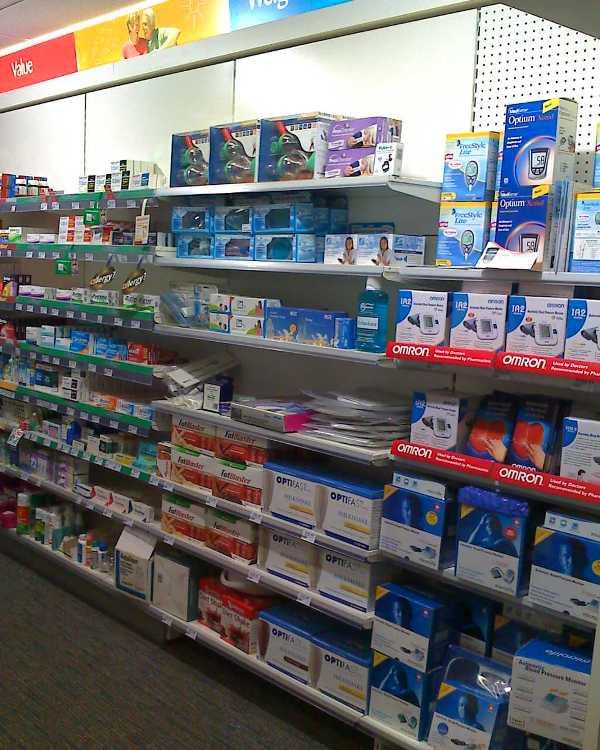 2195mm High Pharmacy Wall Bay Shelving