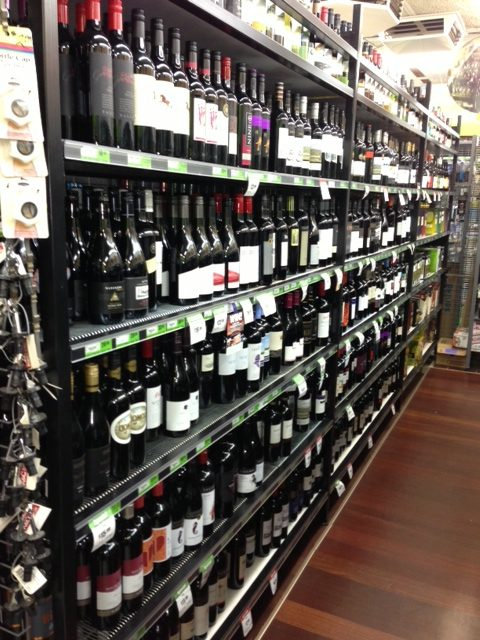 Bottle Shop Shelving
