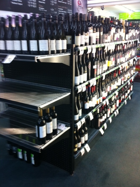 Bottle Shop Shelving