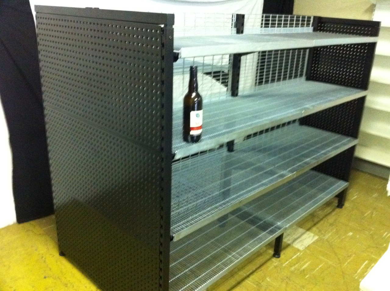 Low Profile Cantilever Shelving