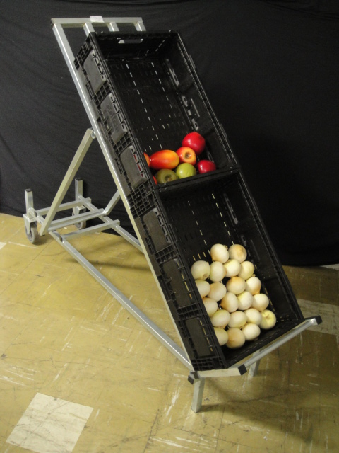 Produce Crate Display Mobile