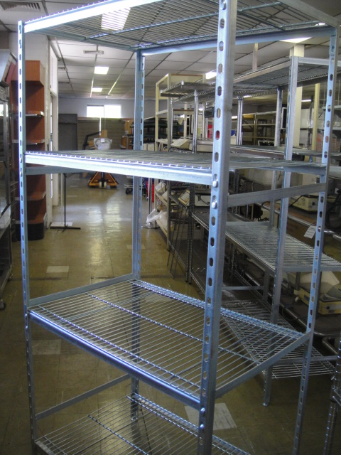 New Zinc Wire Cool Room Racks