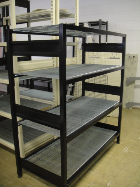 1400mm High Long Span Liquor Shelving
