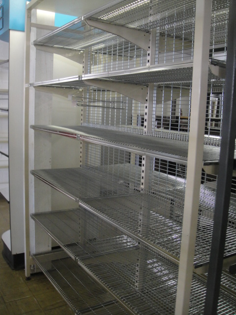 Double Sided Cantilever Shelving