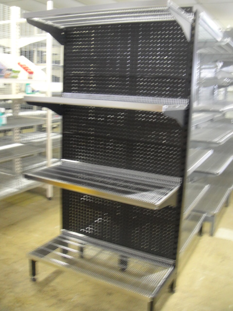 Gondola Ends Perforated Backing Panels