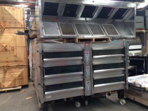 Commercial Range Hood & Oven IMG_3470