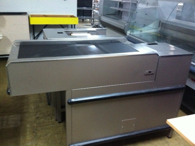 New Express Check Out Counters with Conveyors