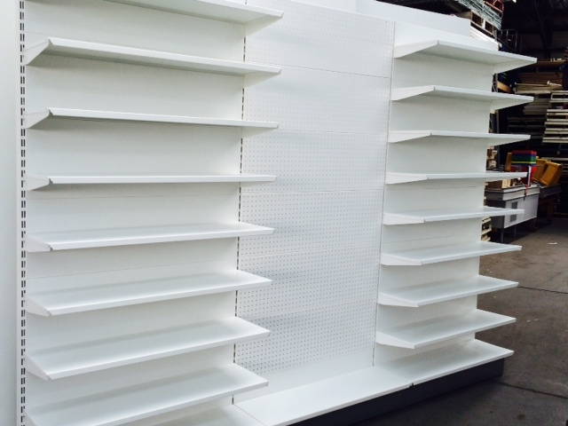 Pharmacy Wall Shelving