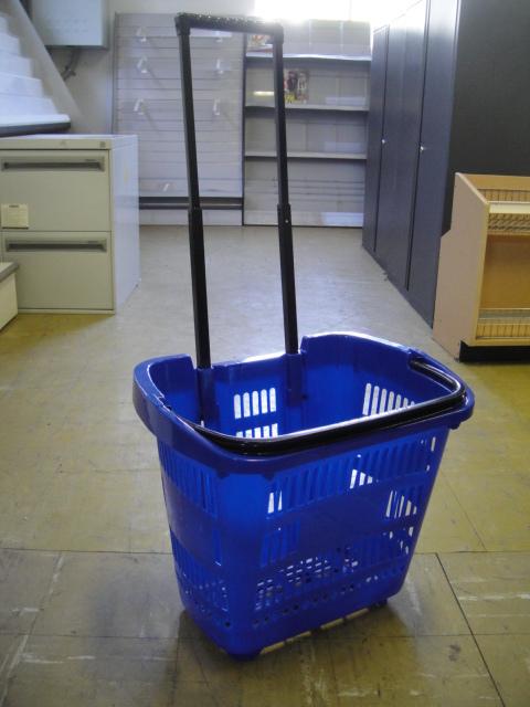 Blue Basket Cart