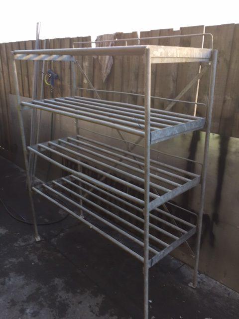 Coolroom Rack – Galvanised