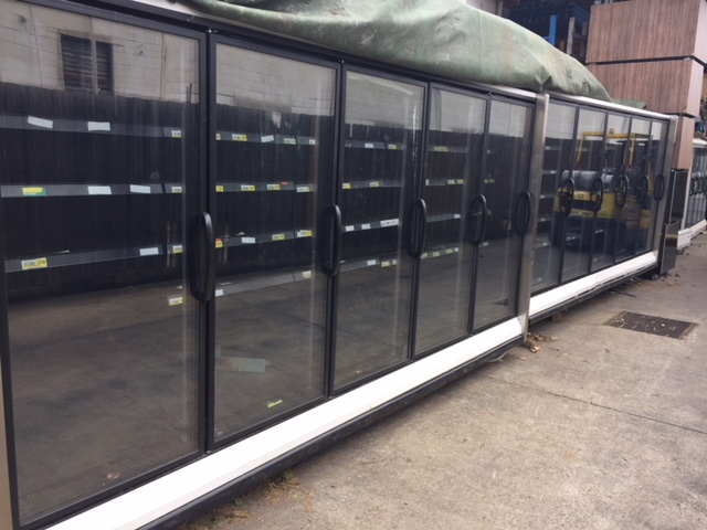 Glass Door Freezer – 15 Doors + Open Front Fridges