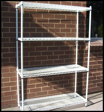 1800mm high Cool Room Wire Racks