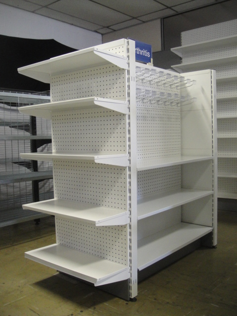Pharmacy Island Gondola (Double Sided) Shelving System
