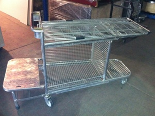 Stock Trolley with Step