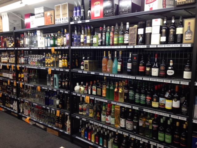 Heavy Duty Liquor Racking Affrack