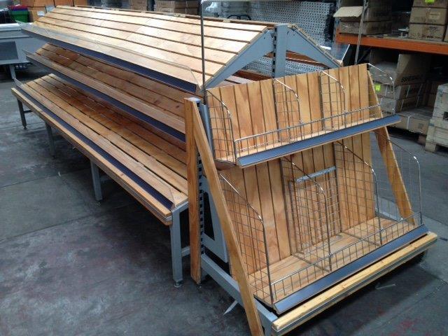 Timber Bakery Display
