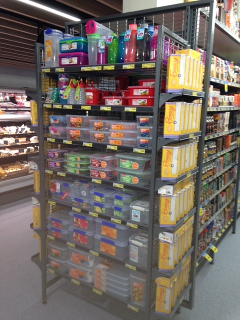 Mesh Flexi End Shelving