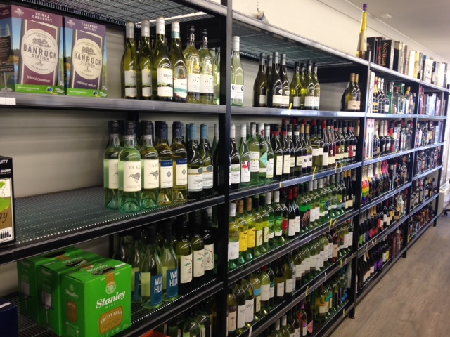 Liquor Affrack Wall Bays