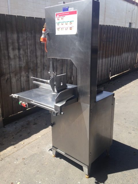 Barnes Stainless Steel Meat Bandsaw