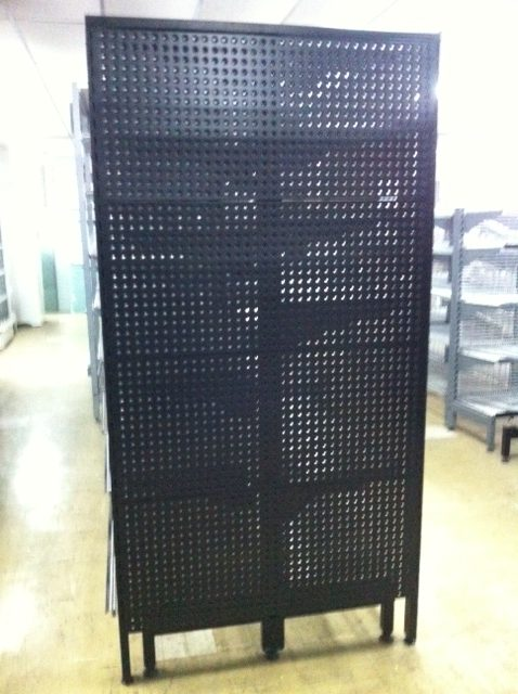 1800mm Flush Feature End Perforated Backing Panels