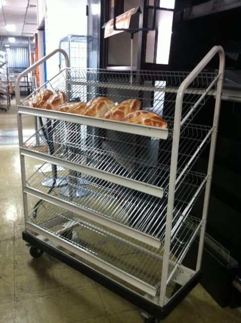 Four Tier Portable Bread Rack – On sale!