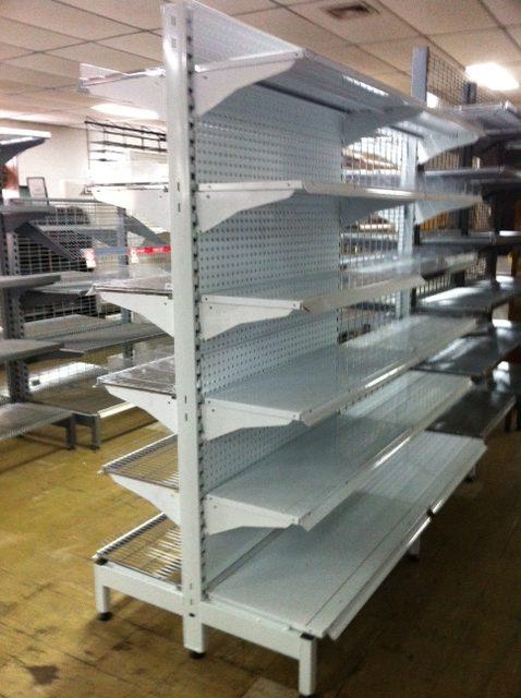 Supermarket Shelving – On sale!