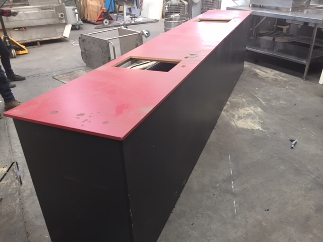Service Counter with provision for 2 x Scanner/Scales