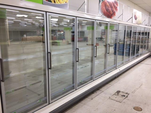 Large Freezer System – 13 Doors