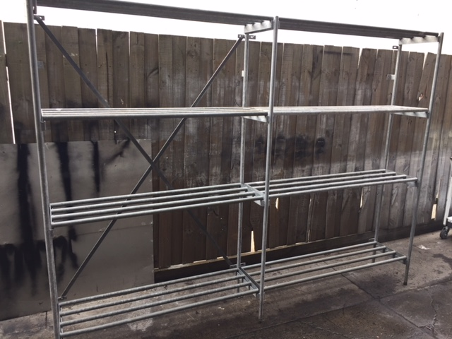 Galvanised Tube Coolroom Racks